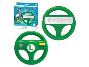 HORI Luigi Racing Wheel Mario Kart 8 Controller For Nintendo Wii U
