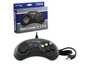 Retro-link 6 Button PC Wired Genesis Style USB Controller