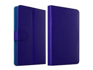 eForCity Leather Stand Flip Case For iPad Mini 3 Google Nexus 7 Dell Venue 7 HP Slate7 Galaxy Tab 3 7-inch Tablet, Navy Blue