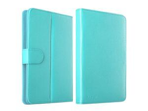 eForCity Leather Stand Flip Case For iPad Mini 3 Google Nexus 7 Dell Venue 7 HP Slate7 Galaxy Tab 3 7-inch Tablet, Baby Blue