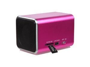 MYBAT Hot Pink Mobile Speakers-13 (with Package)
