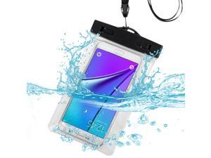 eForCity Clear Waterproof Pouch Bag Case with Armband Lanyard For iPhone 6 6s (4.7-inch) iPhone 6 Plus 6s Plus (5.5-inch) Galaxys S6 Note 5 4 LG Nexus 5 HTC One M9 Moto G