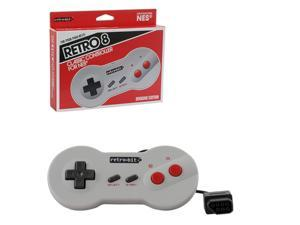 Retro-Bit 2-Pack Wired Dogbone Shape Controller With 6 Feet Cable For Nintendo Entertainment System