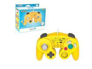 HORI 2-Pack Pikachu Classic Controller Wired Controller For Nintendo Wii / Wii U