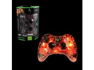 PDP 2-Pack Microsoft Afterglow Wired Controller For Microsoft Xbox 360 - Red