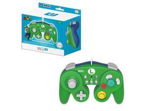 HORI 2-Pack Luigi Classic Controller Wired Controller For Nintendo Wii / Wii U