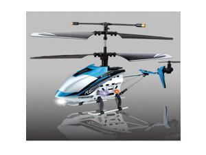 JXD 340 4Ch Drift King Metal RC Helicopter RTF HM40 BLUE