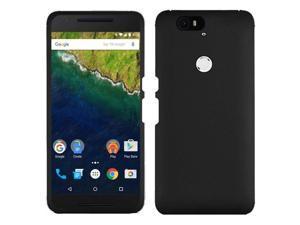 Huawei Google Nexus 6P Case, eForCity Rubberized Hard Snap-in Case Cover for Huawei Google Nexus 6P, Black
