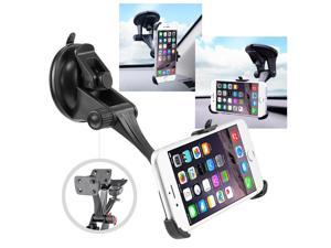 eForCity Car Windshield Cell Phone Holder Suction Cup Mount with Plate for Apple iPhone 6 (4.7-inch)