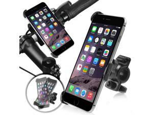 eForCity Phone Holder Plate with  Bicycle Phone Holder Mount for Apple iPhone 6 Plus (5.5-inch), Black