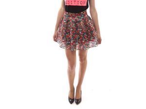 SoHo Women Daisy Multi Pleated Bandage Skirt Size Medium M - Colorful
