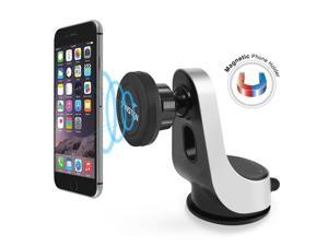 eForCity Universal Magnetic Car Phone Holder Windshield Dashboard Window Mount for iPhone 6/ 6S Plus/ SE/ 5S & Mini Tablet