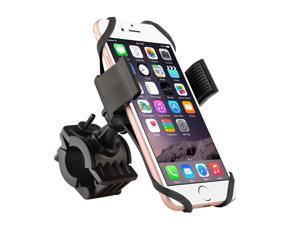 eForCity Universal Motorcycle Bicycle Bike Handlebar Mount Holder For Samsung Galaxy Note 5/ 4/ 3/ S6/ S7 Edge/ J1/ Motorola Moto X G