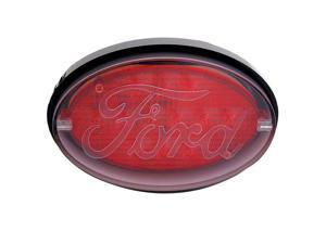 Pilot Automotive Oval Hitch Receiver LED Brake Light, Ford Logo