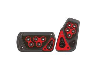 Pilot Automotive Automatic Transmission Voltage Pedal Pads, Red