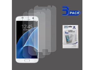 Samsung Galaxy S7 Screen Protector, eForCity 3-Pack Clear LCD Screen Protector Shield Guard Film Compatible With Samsung Galaxy S7