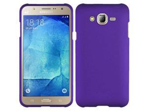 eForCity Samsung Galaxy J7(2015) Case, eForCity Rubberized Hard Snap-in Case Cover Compatible With Samsung Galaxy J7(2015), Purple