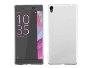 eForCity TPU Rubber Candy Skin Case Cover Compatible With Sony Xperia XA Ultra, Clear