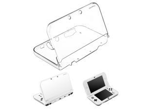 Nintendo New 3DS LL/3DS XL Case, eForCity Crystal Hard Snap-in Case Cover Compatible With Nintendo New 3DS LL/ 3DS XL, Clear