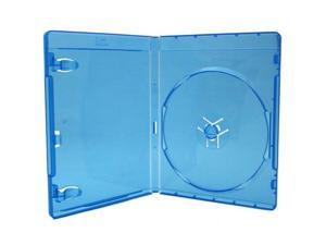 Universal Media Package - 12MM Blu-Ray Disc Case, Clear Blue