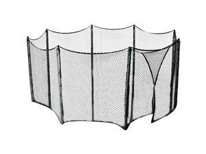 Trampoline Universal Net for Multiple Shape Frames up to 13 ft. For Straight Pole Enclosure Systems -12 Bungees Included!