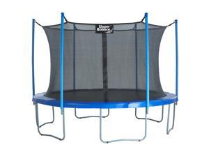 """Upper Bounce - 14 FT. Trampoline & Enclosure Set equipped with the New """" EASY ASSEMBLE FEATURE"""""""