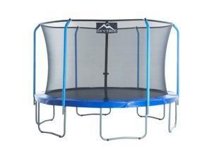 """""""SKYTRIC"""" 11 FT. Trampoline with Top Ring Enclosure System equipped with the """" EASY ASSEMBLE FEATURE"""""""