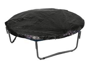 14' Trampoline Protection Cover (Weather & Rain Cover) Fits for 14 FT. Round Trampoline Frames - Black