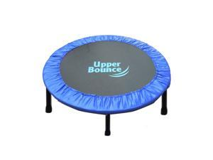 "Upper Bounce 40"" Two-Way Foldable Rebounder Trampoline with Carry-on Bag Included"