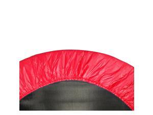 "44"" Mini Round Trampoline Replacement Safety Pad (Spring Cover) for 6 Legs - Red"