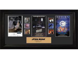 Star Wars Episode IV, V, VI Mixed Trilogy Special Edition Film Cell