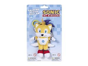 Sonic the Hedgehog (Tails) Mini Talking Plush - Yellow