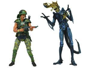 Aliens 7-In Hicks V Blue Warrior Action Figure Set 2 Pack