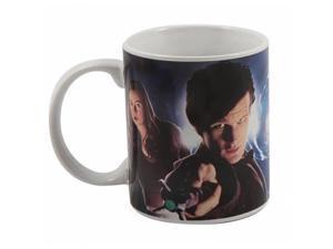 Doctor Who Matt Smith and Amy Pond Mug