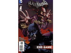 BATMAN ARKHAM CITY END GAME #1 Comic Book