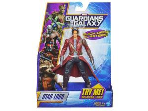 Marvel Guardians of The Galaxy Galactic Battlers Star-Lord Figure