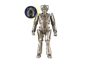 Dr. Who Cyberman Action Figure with Chest Damage