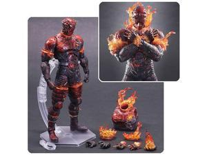 Metal Gear Solid V: The Phantom Pain The Man on Fire Play Arts Kai Action Figure