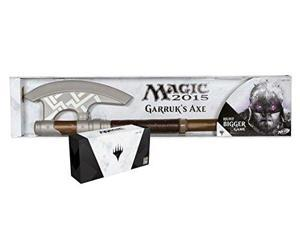 SDCC 2014 Exclusive Hasbro Magic 2015 Planeswalkers & Garruk's Nerf Axe