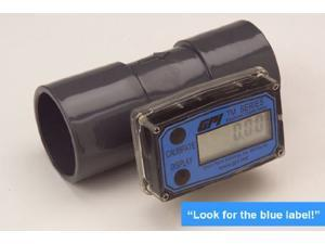 Flowmeter,  PVC,  10 to 100 GPM