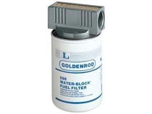 "56593 (596-3/4) Goldenrod 3/4"" Npt Fuel Tank Filter Assembly (WaterBlock) (Diesel & Gasoline)"
