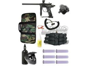 Kingman Spyder Fenix Paintball Mega Package - Black