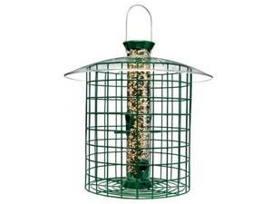 Droll Yankees SDC Wild Bird Feeder With Domed Cage - Green