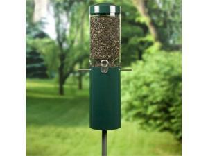 Birds Choice CLASSIC FEEDERw/POLE-GREEN-NP431