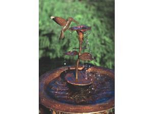 Copper Dripper/Fountain Hummingbird