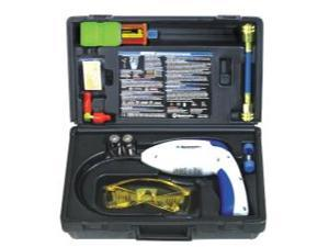 Complete Electronic Leak Detector with UV Light and 10 Application Dye Kit
