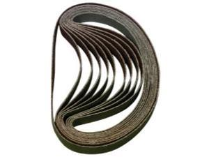 "80 Grit 3/8"" x 13"" Sanding Belt (10 Pack)"