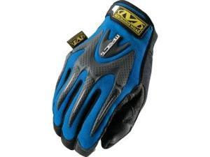 Blue M-Pact Gloves Size Medium