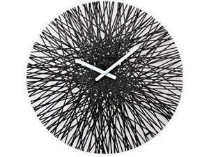Koziol Silk Wall Clock in Black