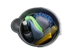 Car Wash Bucket Kit - Contains all the supplies needed to wash your car.